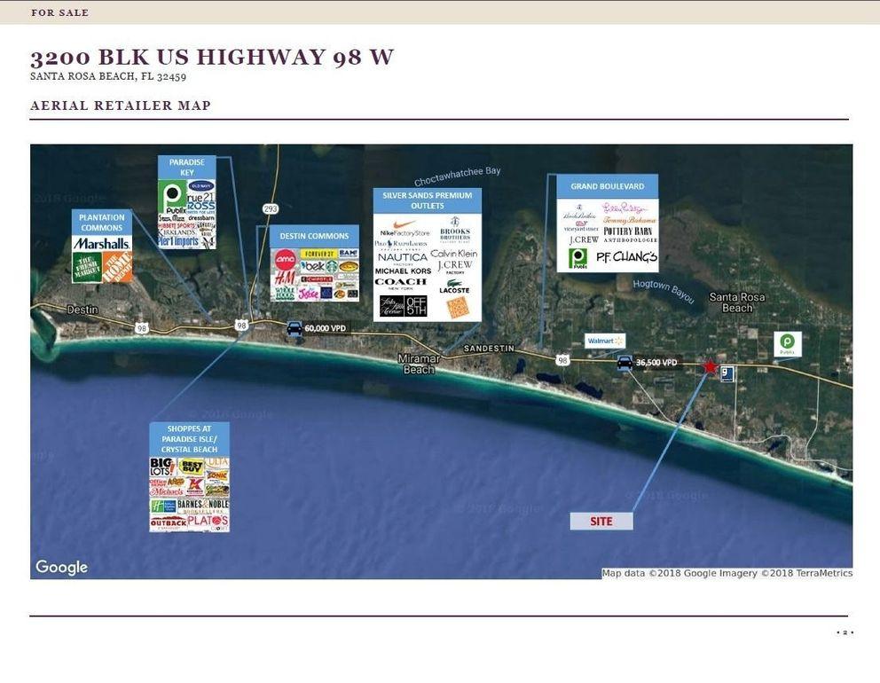 Us Highway 98 Map 3200 Us Highway 98 W, Santa Rosa Beach, FL 32459   realtor.com®