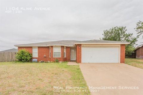 Photo of 1104 Kline Ave, Lubbock, TX 79416