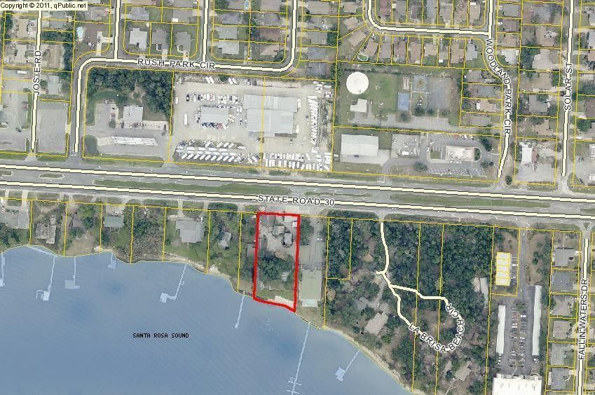 Map Of Mary Esther Florida.1411 Us98 Us98 Mary Esther Fl 32569 Land For Sale And Real