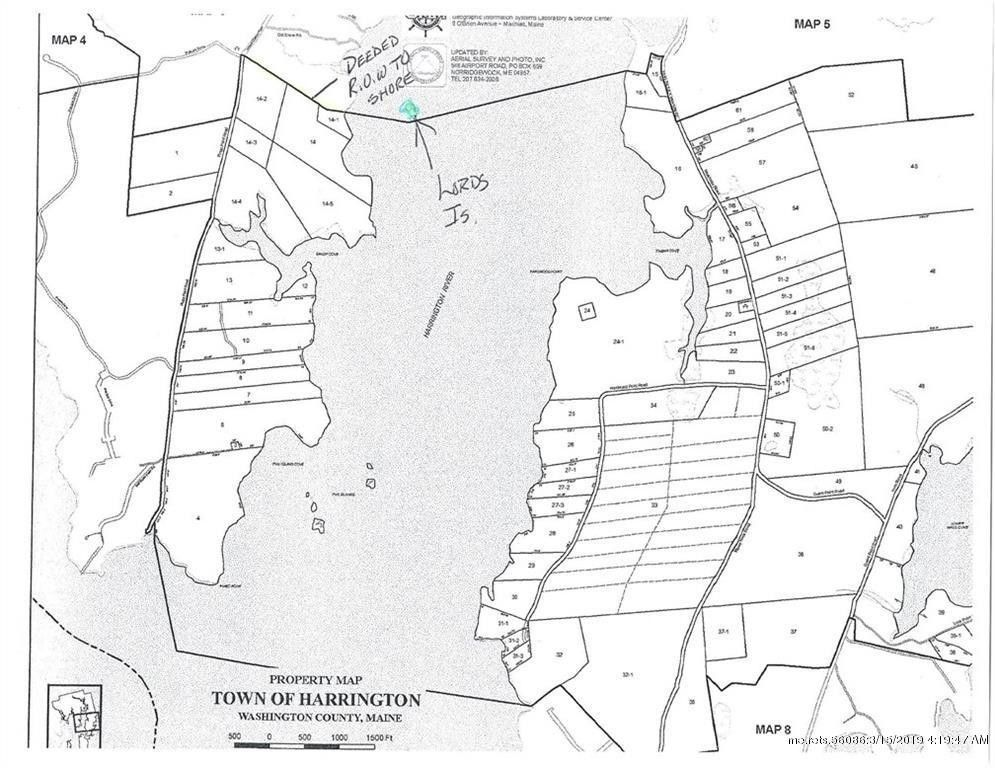 Harrington Maine Map.Lords Is Lot 14 Harrington Me 04643 Land For Sale And Real