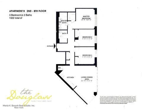 2110 Frederick Douglass Blvd Apt 6 B, New York, NY 10026