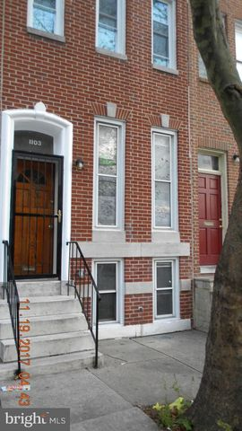 Photo of 1103 N Mount St, Baltimore, MD 21217