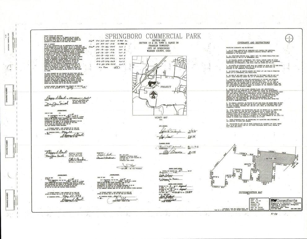 Springboro Ohio Map.3 Commercial Way Springboro Oh 45066 Realtor Com