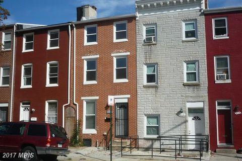 813 Caroline St N, Baltimore, MD 21205