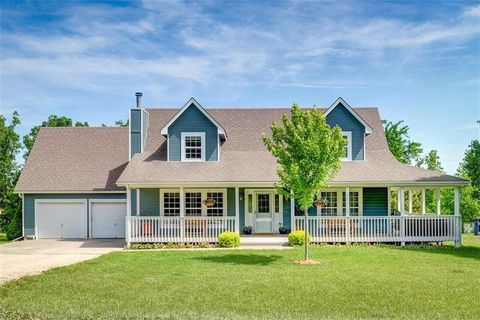 Rd Home With  Acres For Sale Holden Missouri