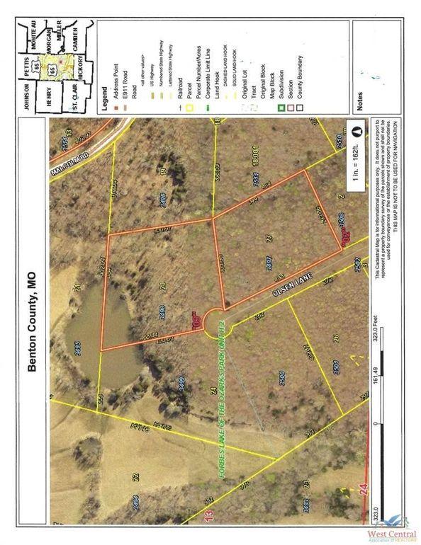 Lots3497 Unit H2 and 3498 Olsen Ln Edwards, MO 65326