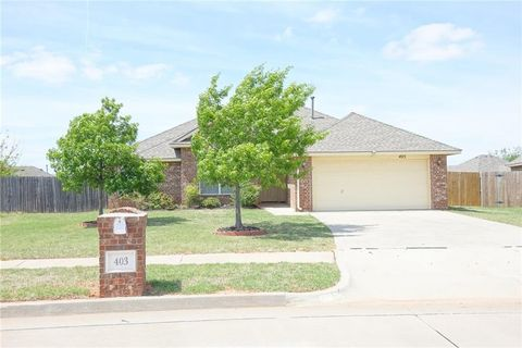 403 S Pointe Ln, Mustang, OK 73064