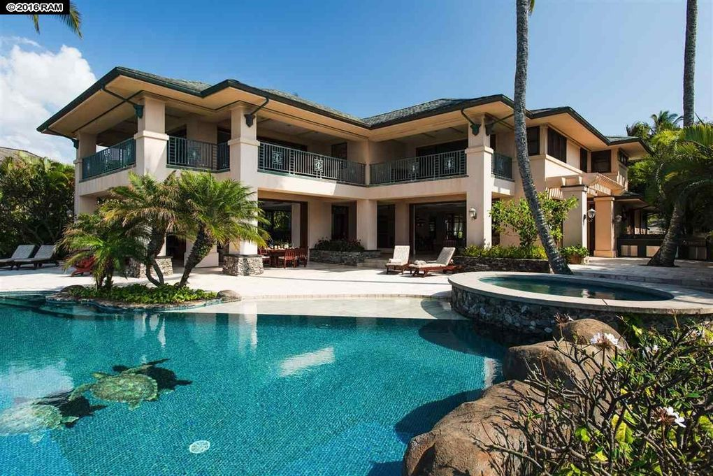 9 kapalua pl lahaina hi 96761 - Big mansions with pools on the beach ...