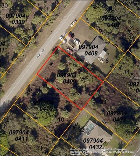 North Port Florida Map.1620 Patio Ter North Port Fl 34286 Realtor Com