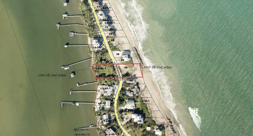 Stuart Florida Map.1089 Se Macarthur Blvd Stuart Fl 34996 Land For Sale And Real