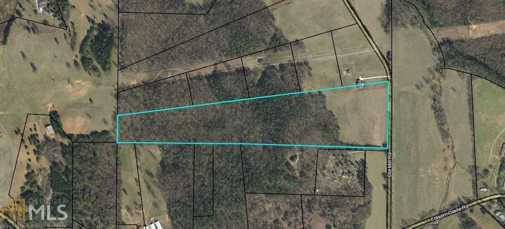 0 Old Mill Rd Rydal Ga 30171 Land For Sale And Real Estate