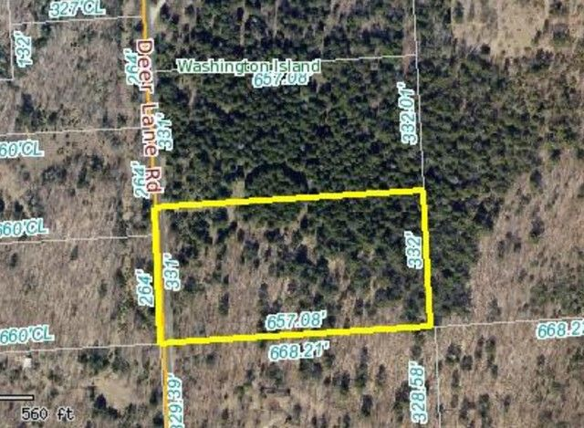 Deer Lane Rd, Washington Island, WI 54246