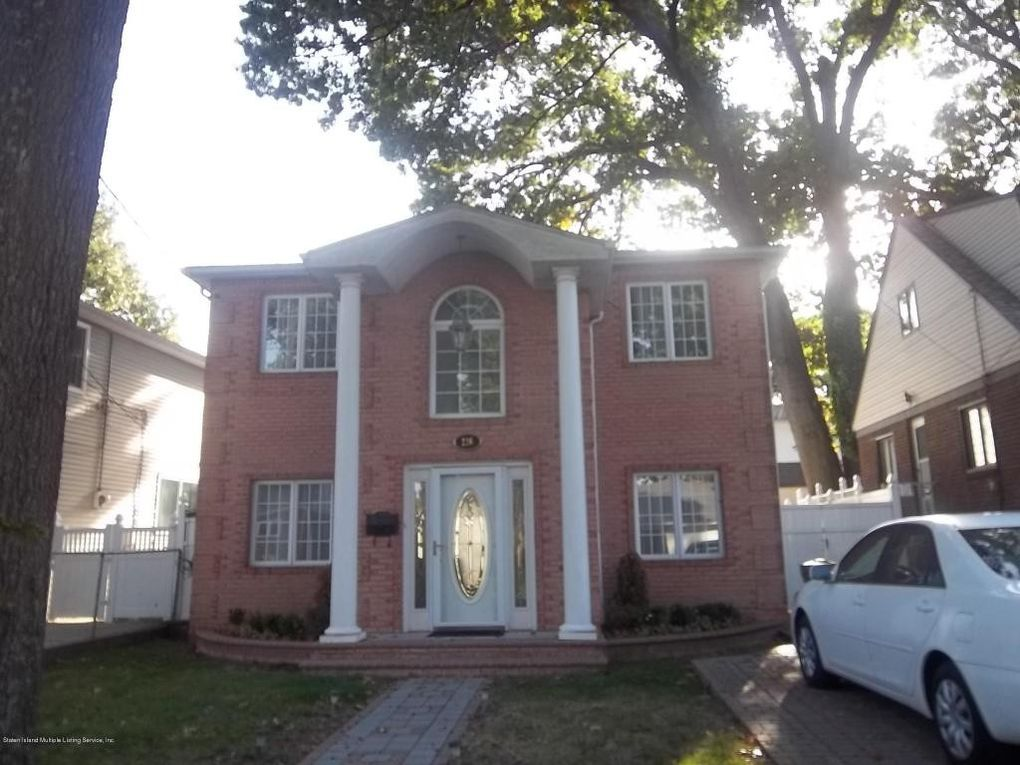 One Family House For Sale In Staten Island