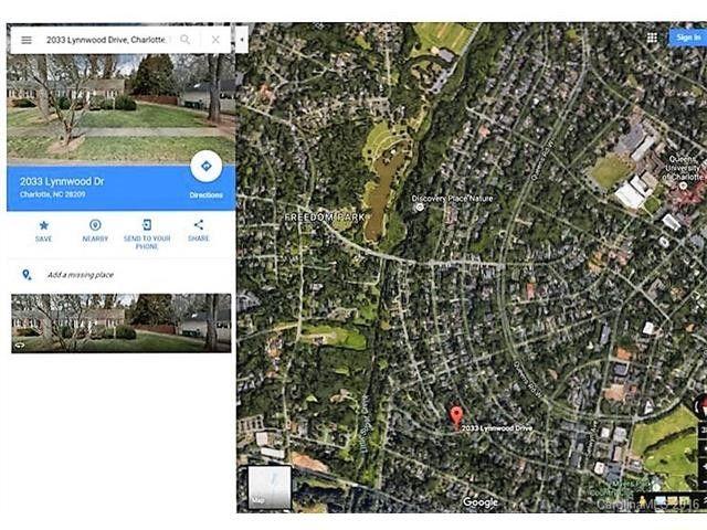 Freedom Park Charlotte Nc Map.2033 Lynnwood Dr Charlotte Nc 28209 Realtor Com