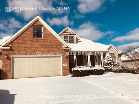 Photo of 8299 Brooke Hollow St Nw, Massillon, OH 44646