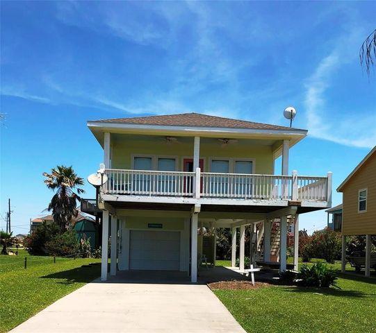 Beach House Rental Crystal Beach: 978 Biscayne, Crystal Beach, TX 77650