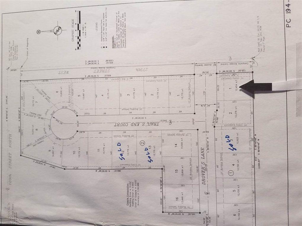 Blk 1 W Drovers Ln Unit Drovers 1st Add Xing Lot 1 Mount Hope, KS 67108