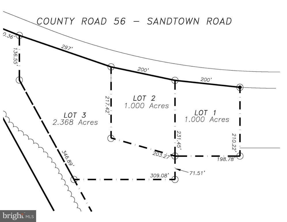 Lot 02 Tax 00 Sandtown Rd Parcel 38, Felton, DE 19943