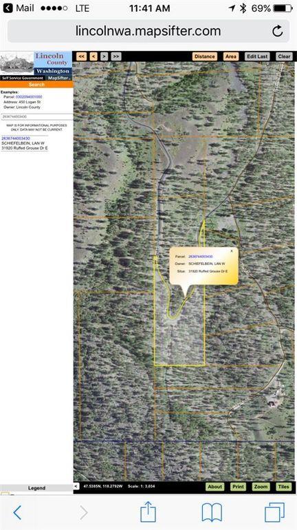 Davenport Washington Map.31920 E Ruffed Grouse St Davenport Wa 99122 Realtor Com
