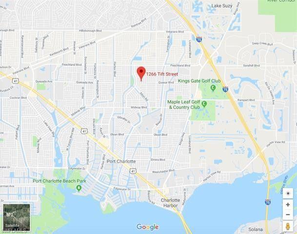 Street Map Port Charlotte Florida.1266 Tift St Port Charlotte Fl 33952 Realtor Com