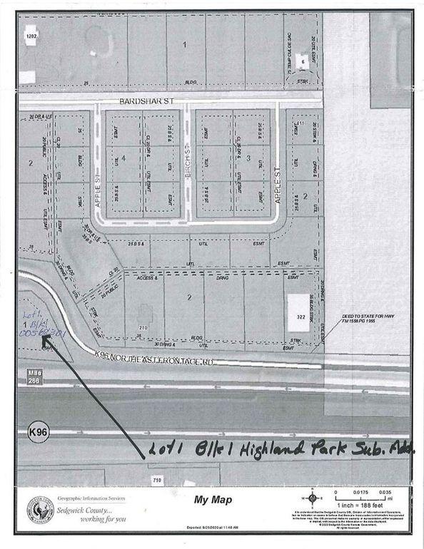 E K 96 Ne Frontage Rd Unit of Highland Sub Add Park Lot 1BLK1 Mount Hope, KS 67108