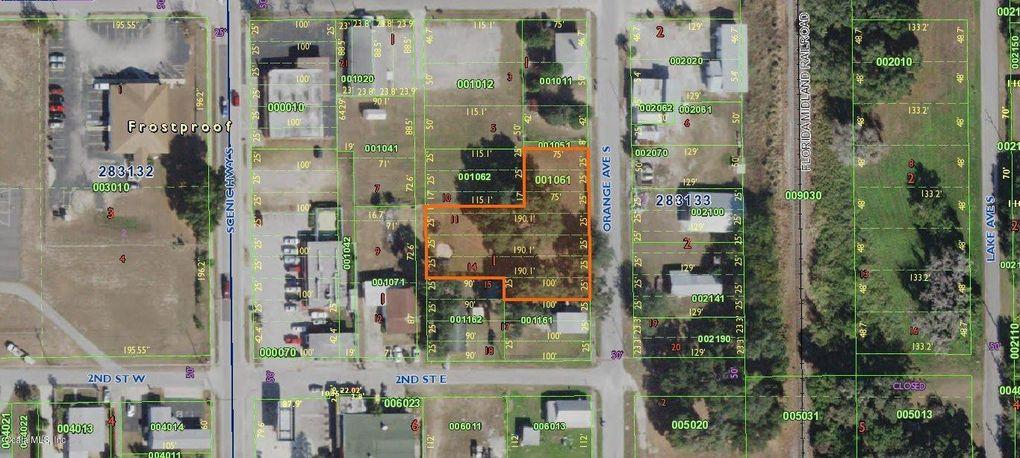 Frostproof Florida Map.S Orange Ave Frostproof Fl 33843 Land For Sale And Real Estate