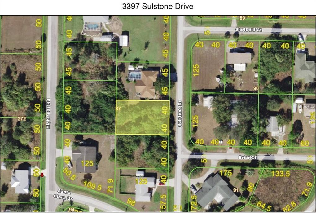 3397 Sulstone Dr Punta Gorda FL Land For Sale and Real