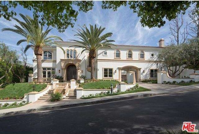 3332 clerendon rd beverly hills ca 90210 for Beverly hills celebrity homes map