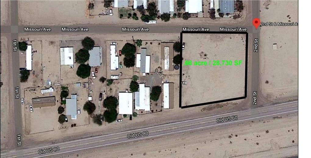 2 Missouri Old Us 80/Missouri Ave Unit Corner Tacna, AZ 85352