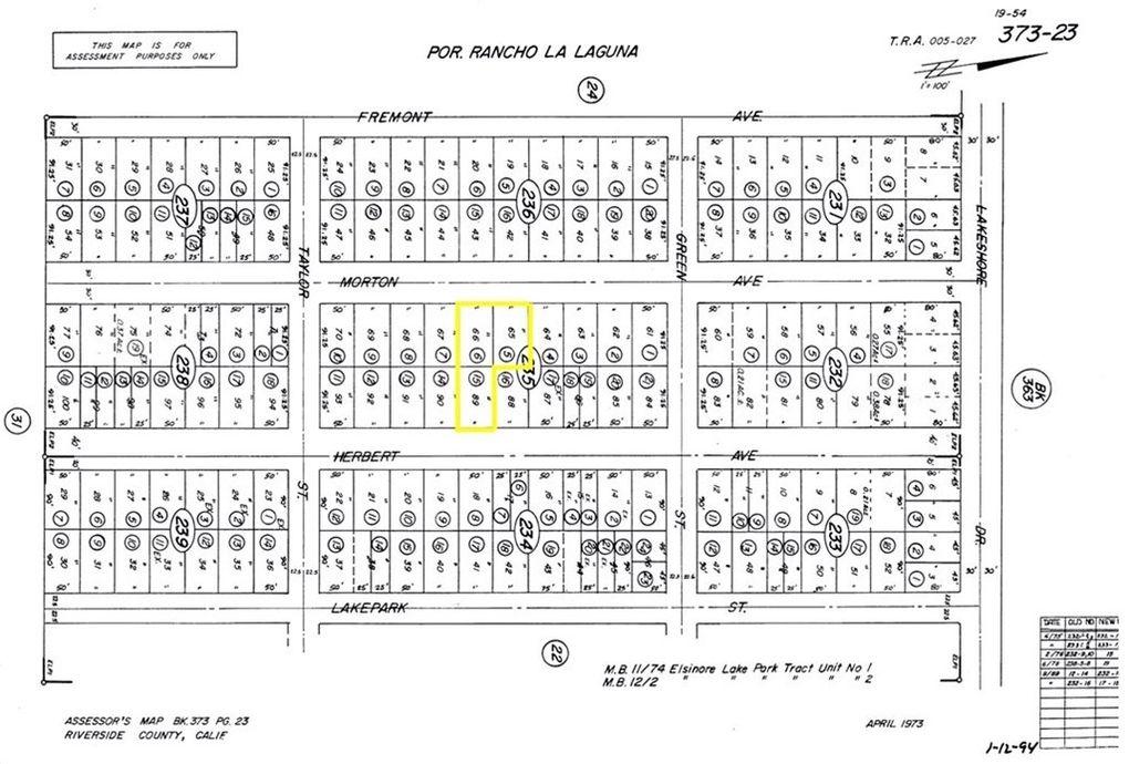 Herbert Ave Lake Elsinore, CA 92530