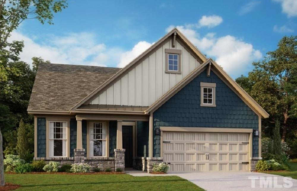 Garage featured at 1004 Hillside Falls Dr Unit 127, Wake Forest, NC 27587