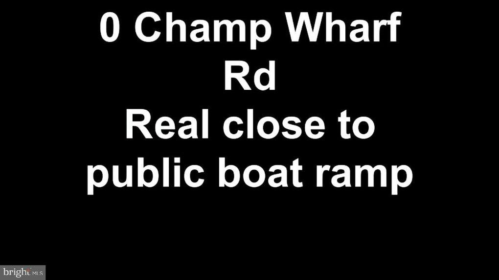 Champ Wharf Rd Princess Anne, MD 21853