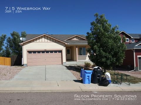 Photo of 715 Winebrook Way, Fountain, CO 80817