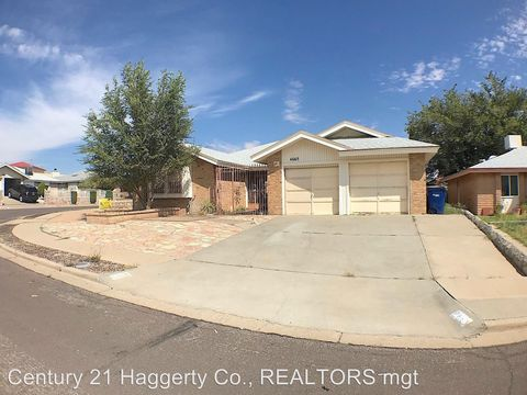 Photo of 4665 Round Rock Dr, El Paso, TX 79924