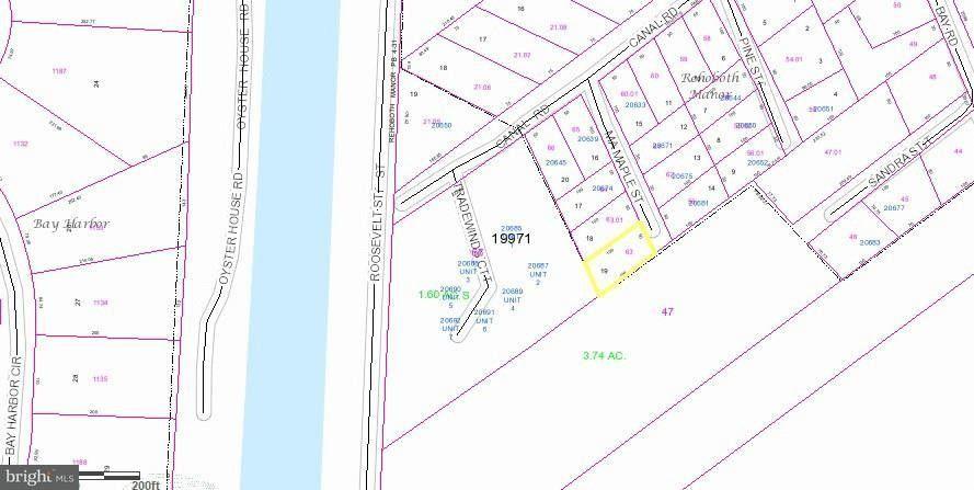 Lot 18 Truitts Park Maple St Unit 18, Rehoboth Beach, DE 19971