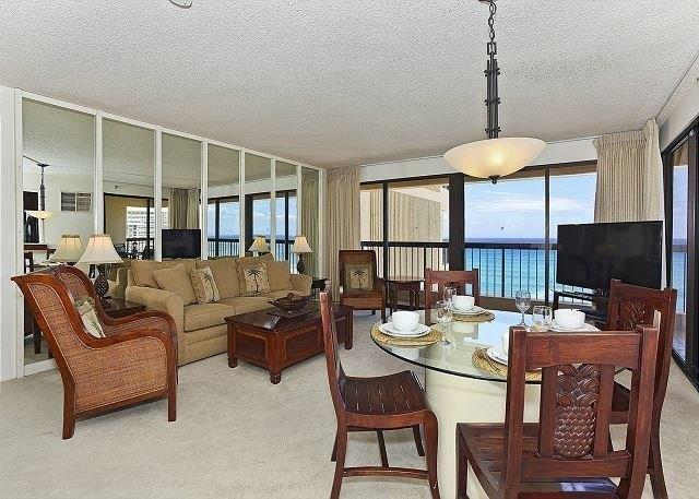 Living room featured at Waikiki Tower Bch # 1904, Honolulu, HI 96815