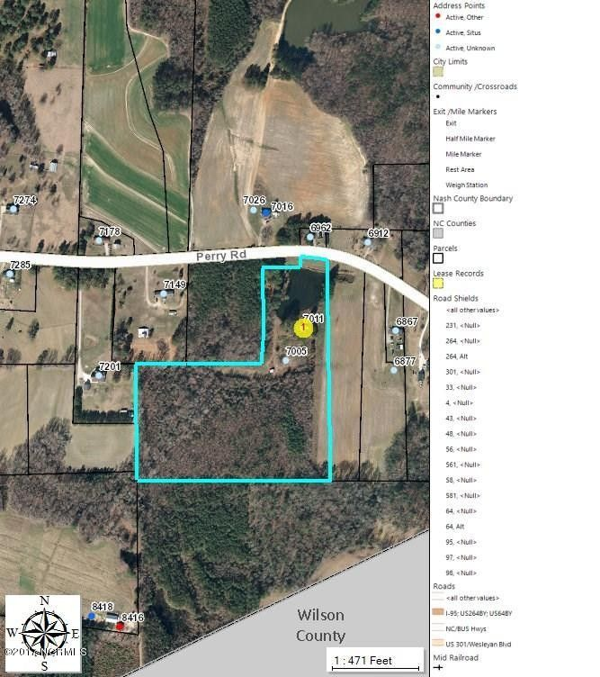 7011 Perry Rd, Bailey, NC 27807   Recently Sold Land & Sold