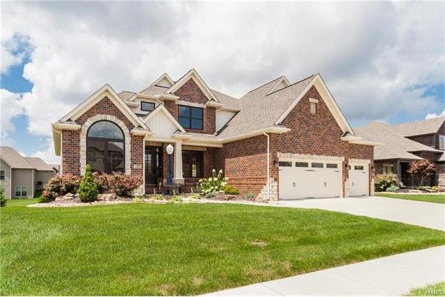 3309 hershiser ct edwardsville il 62025 home for sale