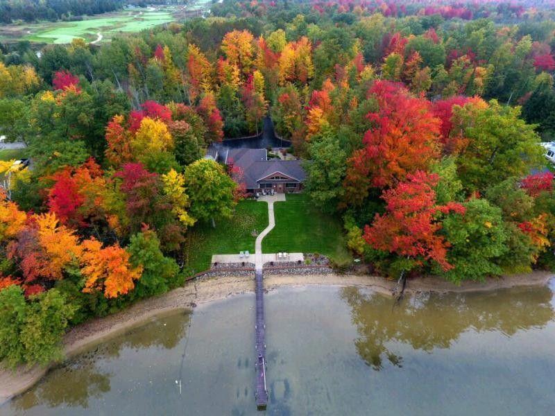 Homes For Sale On Cedar Lake In Greenbush Michigan