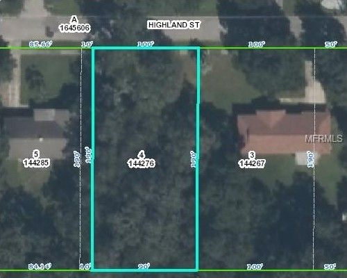 Brooksville Florida Map.View Map Highland St Brooksville Fl 34601 Recently Sold Land