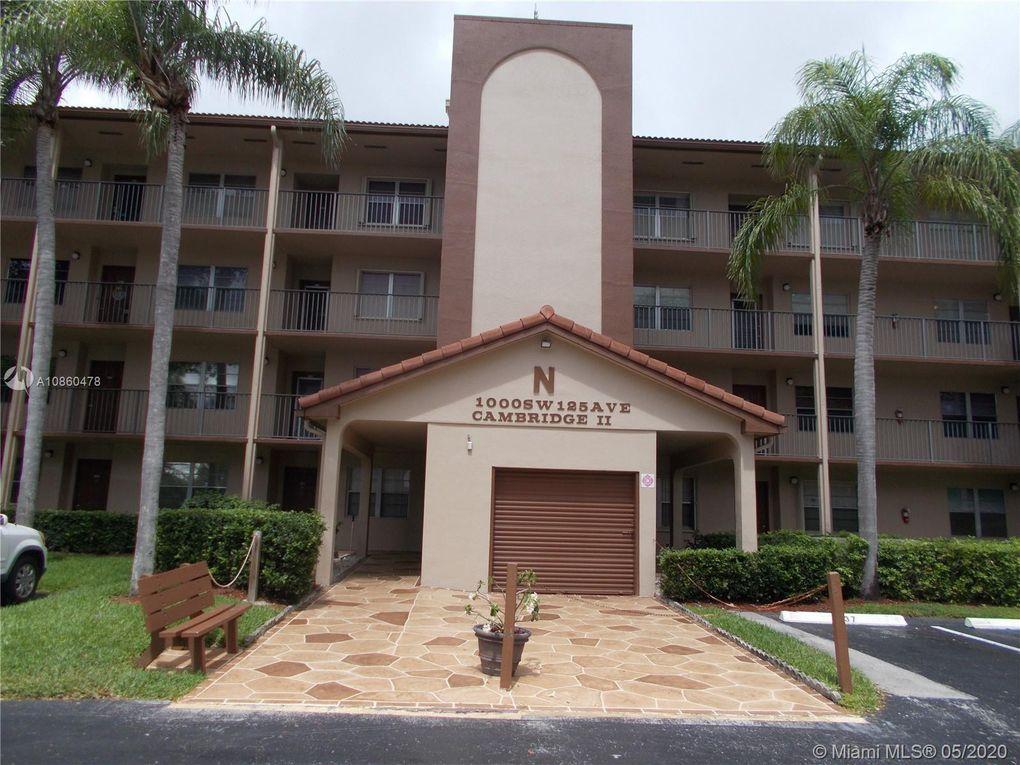 1000 SW 125th Ave Unit 314N Pembroke Pines, FL 33027