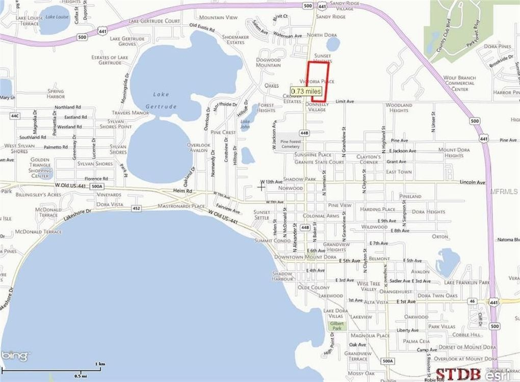 Lake Dora Florida Map.Donnelly St Mount Dora Fl 32757 Recently Sold Land Sold