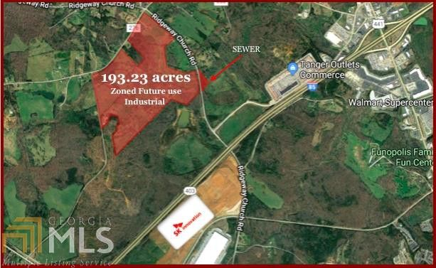 Commerce Georgia Map.1132 Hardman Orchard Rd Commerce Ga 30529 Land For Sale And Real