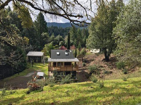 22346 Rickard Ranch Rd, Yorkville, CA 95494