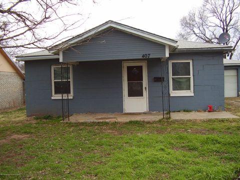Photo of 407 S Houston St, Shamrock, TX 79079
