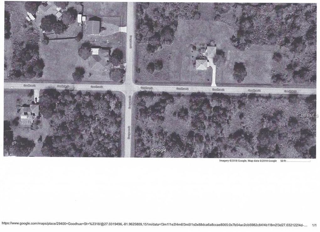 Goodhue St Punta Gorda FL Land For Sale and Real