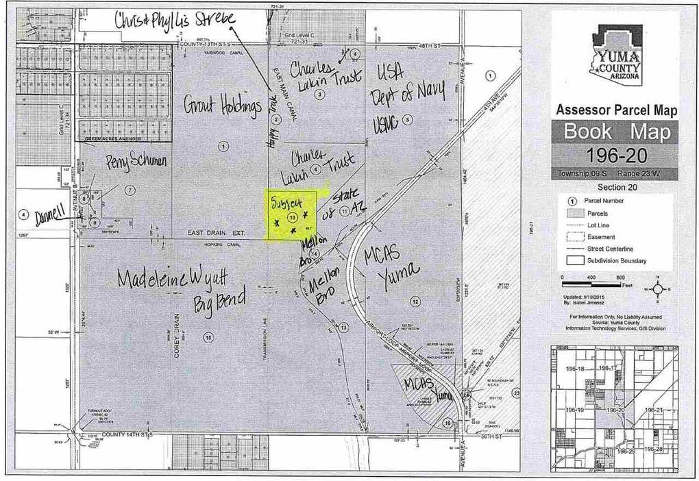 Street Map Of Yuma Arizona.Ave A 1 2 County 13 1 2 St Yuma Az 85365 Realtor Com