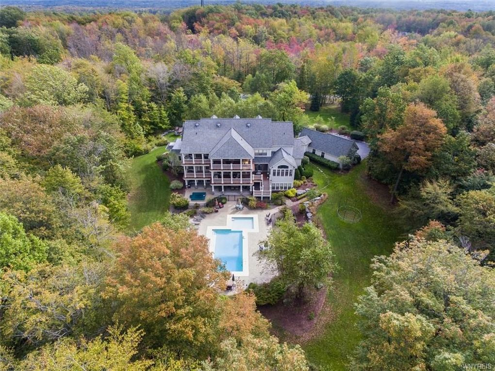 Mansion With Swimming Pool orchard park, ny houses for sale with swimming pool - realtor®