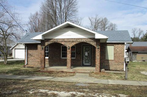 Photo of 304 E Walnut St, Odon, IN 47562