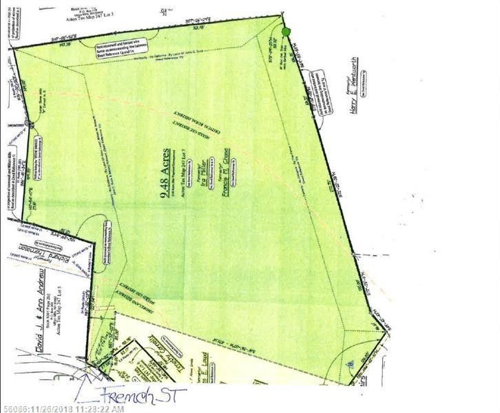 Map 247 French Acton Me 04001 Realtor Com